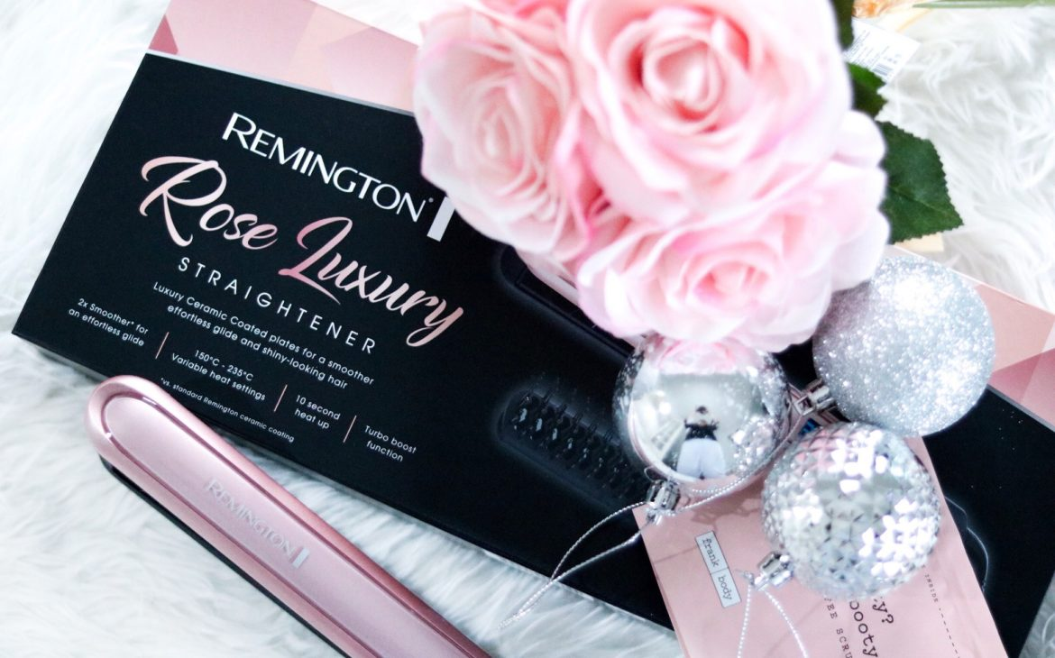 Gift Guide- Remington Rose Luxury Straighteners + Competition Time
